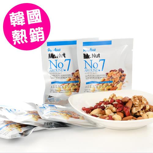 韓國 Paranfood Mr.Nut 綜合堅果 一日堅果 隨身包 20g 杏仁果 5種堅果 (no.7/單包)