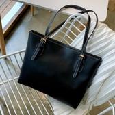 托特包 ins網紅流行包包女包百搭大容量側背包時尚簡約托特大包 芊墨左岸