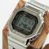 日本卡西歐手錶 CASIO G-SHOCK 小銀塊 GMW-B5000D-1JF 35週年紀念限定款 限量款 全銀