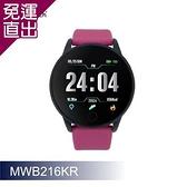 人因科技 ERGOLINK 大錶徑心率智慧監測運動手錶-黑紅 MWB216KR【免運直出】