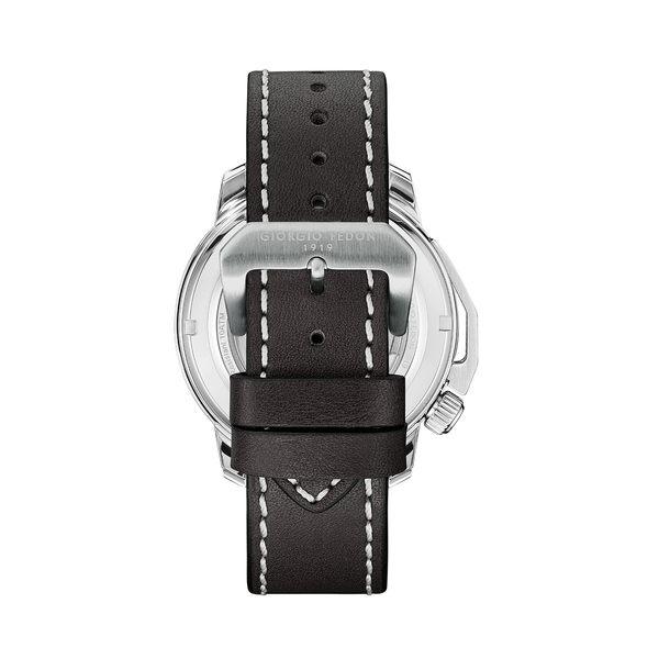 義大利 Giorgio Fedon 喬治菲登1919  TIMELESS VIII永恆系列運動版機械錶 GFCI001 黑