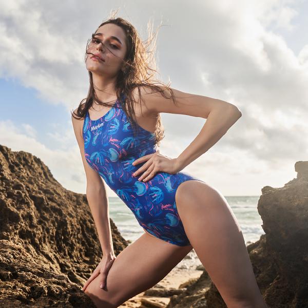 ≡MARIUM≡ MAR-20011W 大女競賽型泳裝 - Jellyfish