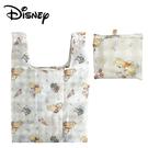 【日本正版】小熊維尼 摺疊 購物袋 環保袋 手提袋 防潑水 維尼 Winnie 迪士尼 Disney - 366296