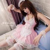 女僕裝 L號 蘿莉小女僕蕾絲洋裝 甜美角色扮演制服-愛衣朵拉