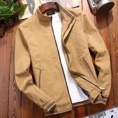 秒殺牛仔外套純棉秋季男士外套中年韓版潮流男裝秋冬休閒牛仔夾克