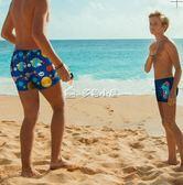 男童泳衣 兒童泳衣男兒童泳褲男童小童中大童學生游泳褲游泳衣泳 多色小屋
