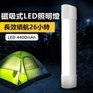 [磁吸式] LED行動燈管 超亮手電筒 四段式調光露營燈 隨身燈管 緊急行動電源 手電筒【RS901】