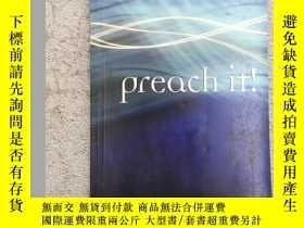 二手書博民逛書店Preach罕見It!Y19139 D. Stuart Bris