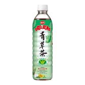 味丹 心茶道健康青草茶 600ML【屈臣氏】