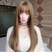 假髮 長發長直發頭套空氣劉海發式水母網紅發型