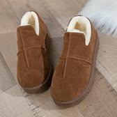 雪地靴女 2019冬季新款冬鞋保暖加絨百搭韓版雪地靴女短筒短靴平底學生棉鞋【免運】