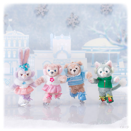 【京之物語】日本東京迪士尼冬季限定款雪莉玫玩偶吊飾-現貨