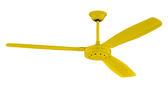 【燈王的店】台灣製 52吋  工業吊扇 附遙控器  三葉扇 鐵葉扇 黃色 ☆  SC356-52-RC-A