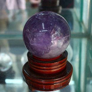 紫水晶球風水擺件