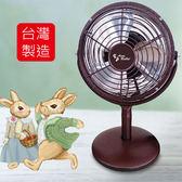 安妮兔 台灣製造6吋復古風扇 073HD-S216