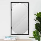 壁鏡《YoStyle》維克多文青風壁鏡 穿衣鏡 全身鏡 化妝鏡 鏡子 吊掛鏡