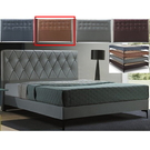 皮床 布床架 CV-169-20A 艾美6尺卡其色雙人床(不含床墊及床上用品)【大眾家居舘】