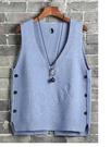 背心女冬短款針織背心新款時尚韓版寬鬆網紅同款2019春裝百搭馬甲
