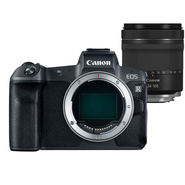Canon EOS R + RF 24-105mm F4-7.1 IS STM 全片幅 無反光鏡【 平行輸入】WW