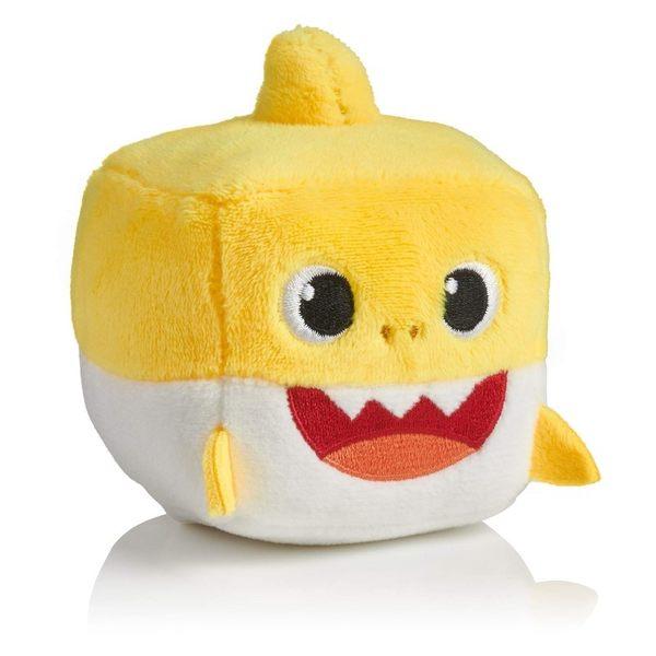 特價 Pinkfong 碰碰狐 BABY SHARK 鯊魚家族 發聲絨毛方塊 TOYeGO 玩具e哥