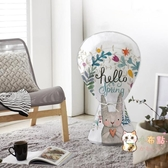 全包式電風扇防塵罩家用風扇保護罩卡通兔子防塵防灰台式風扇罩 快速出貨