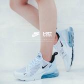 IMPACT Nike Air Max 270 White 白 黑 慢跑鞋 編織 氣墊 避震 輕量 AH6789-100