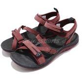 Merrell 涼拖鞋 Siren Strap Q2 紅 黑 綁帶 戶外涼鞋 女鞋【PUMP306】 ML12714