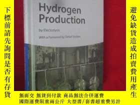二手書博民逛書店Hydrogen罕見Production: By Electro