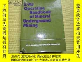 二手書博民逛書店Operating罕見Handbook of Minera Un