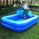 加大加厚充氣游泳池兒童成人大號戲水池玩水池洗澡池寶寶充氣水池 快速出貨