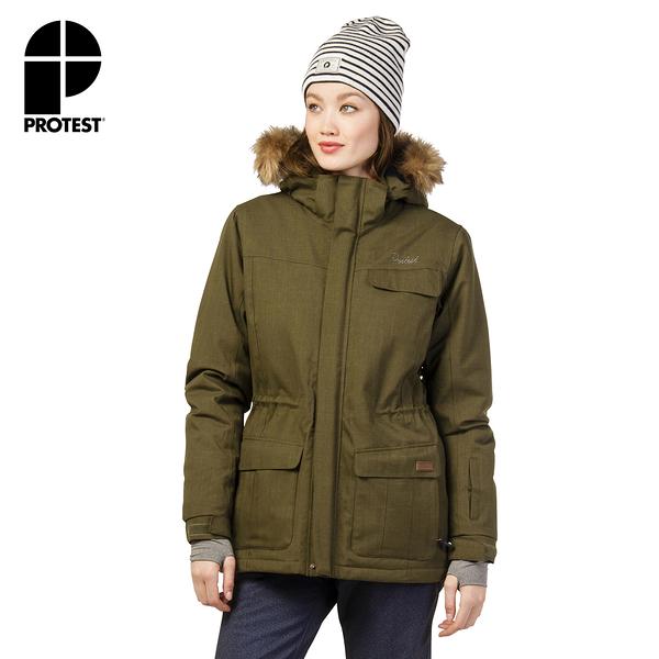 PROTEST 女 機能防水保暖外套 (迷彩色) PORTHARDY SNOWJACKET