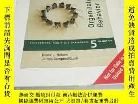二手書博民逛書店Organizational罕見Behavior(組織行爲學)Y