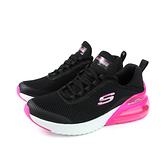 SKECHERS SKECH-AIR 運動鞋 女鞋 黑/桃紅 13276BKHP no076
