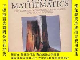 二手書博民逛書店finite罕見mathematics(seventh edit
