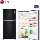 汰舊退稅補助最高5千元【LG樂金】393L 直驅變頻上下門 電冰箱《GN-BL430GB》曜石黑 壓縮機十年保固