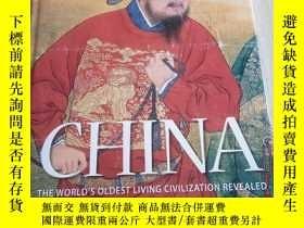 二手書博民逛書店CHINA罕見The Worlds Oldest Living
