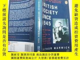 二手書博民逛書店British罕見Society Since 1945Y476