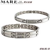 【MARE-316L白鋼】男女對鍊 系列: 總裁(亮) 款