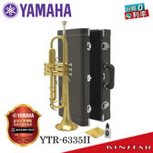 【金聲樂器廣場】 Yamaha YTR-6335 ll 二代專業型金漆 小號 / 小喇叭 日本原裝 一年保固 終生維修