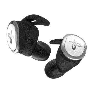 台灣公司貨『 Jaybird RUN 銀白色 』真無線 藍牙運動耳機/藍牙4.0/防汗/防潑水/12小時便攜電力