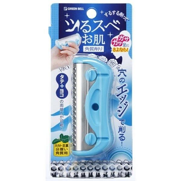 【日本製】【GREEN BELL】日本製 足部角質削除器 水藍色 NC-307(一組:12個) SD-21912 -