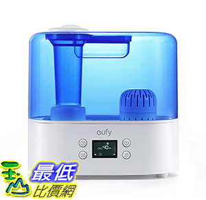 [106美國直購] Eufy Humos Air 1.1,Ultrasonic Cool Mist Humidifier with Auto Humidity Control