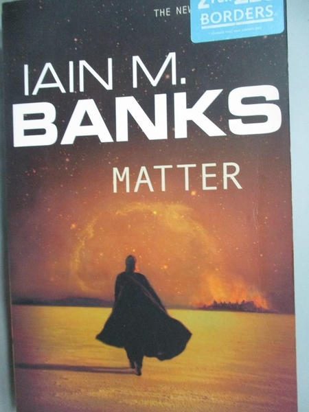【書寶二手書T7/原文小說_ZHH】Matter_Iain Banks