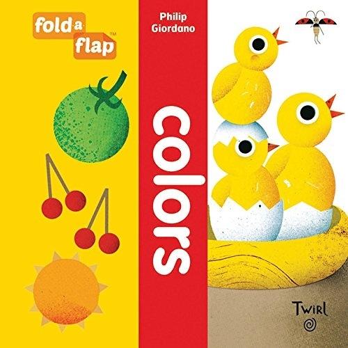【幼兒藝術形狀認知書】FOLD FLAP : COLORS / 硬頁翻翻書