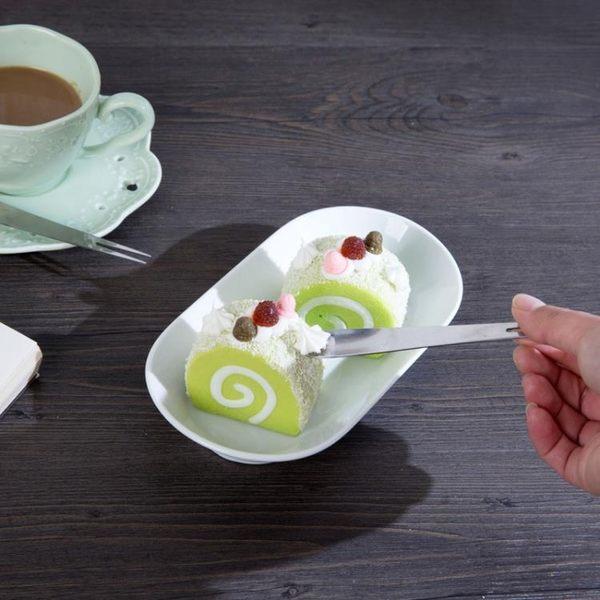 [超豐國際]不銹鋼水果叉兒童甜品叉創意吃水果叉勺家用餐具小勺子叉子蛋糕叉