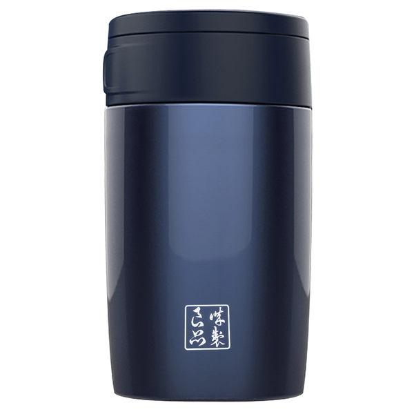 魔法瓶嚴選 304不鏽鋼琺瑯真空燜燒罐600ml(藍色)(MF0476L)