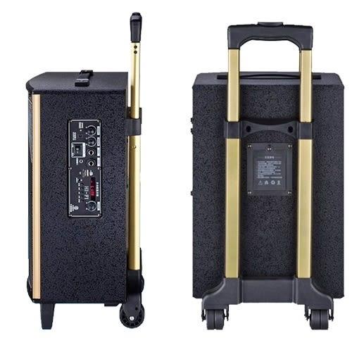 大聲公實雅型無線麥克風多功能行動音箱/喇叭 (耳掛+手持組)