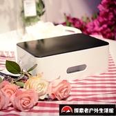 家用桌面整理神器數據線收納盒數碼包手機耳機硬盤充電器【探索者戶外生活館】