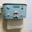 創意可愛壁掛式手紙盒衛生間抽紙巾盒免打孔衛生紙收納置物盒【櫻田川島】