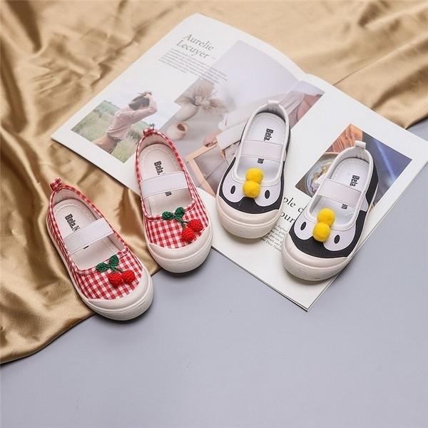 超低折扣NG商品~中童鞋 娃娃鞋 韓版平底童鞋 寶寶公主鞋 女童休閒鞋 (15.5-17.5cm) KL11636好娃娃